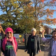 Walk for Woking Age Concern 4 Nov 20