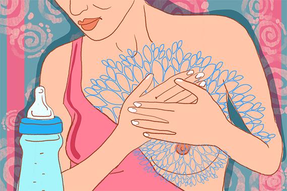 Проблемы грудного вскармливания