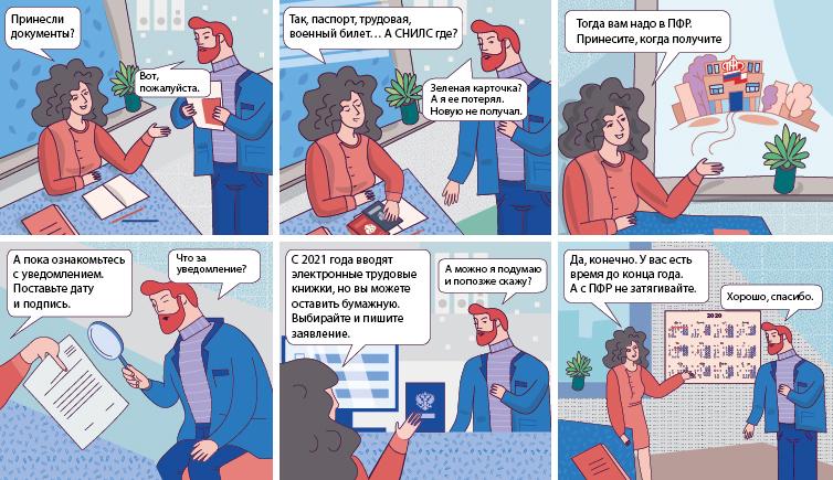 Комиксы для кадровиков)