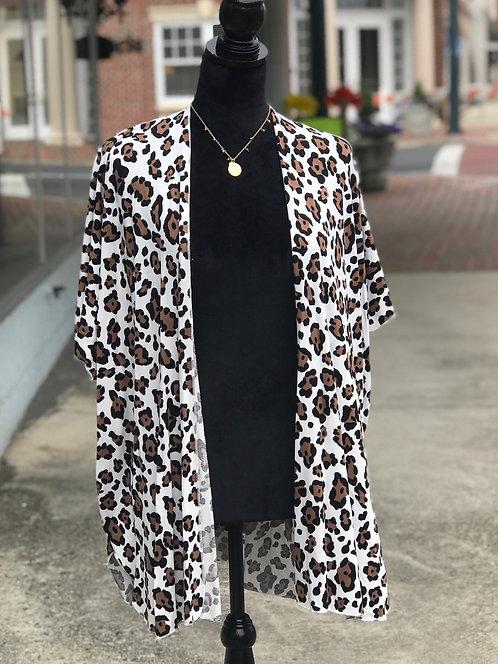 Cheetah Cardigan/Caftan