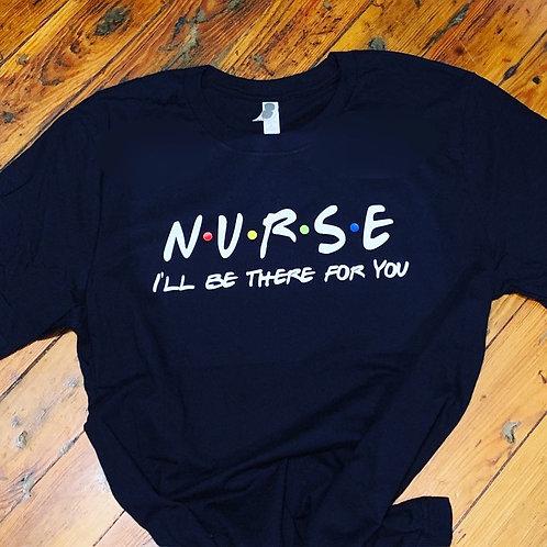 NURSE Friends Themed Shirt