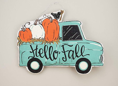 Hello Fall Double Sided Door Hanger