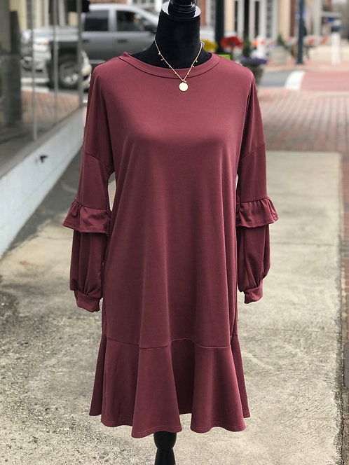 It's Wine Time Dress