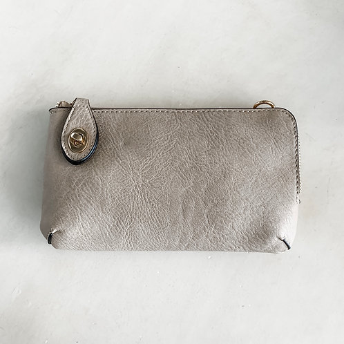Buckle Cross Body - Taupe