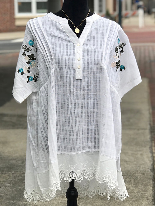 Light & Airy Overlay Tunic