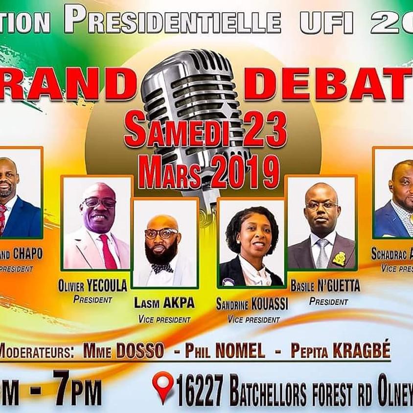 Election UFI DC Metro: Le debat