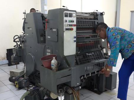 Salimata Touré,1ère femme ingénieur des techniques d'imprimerie en Côte d'Ivoire