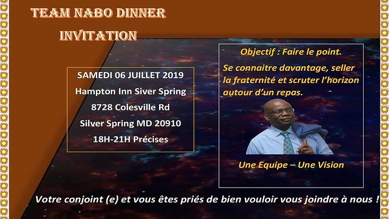 Team Nabo Dinner Event