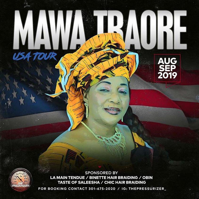 Mawa Traore USA Tour