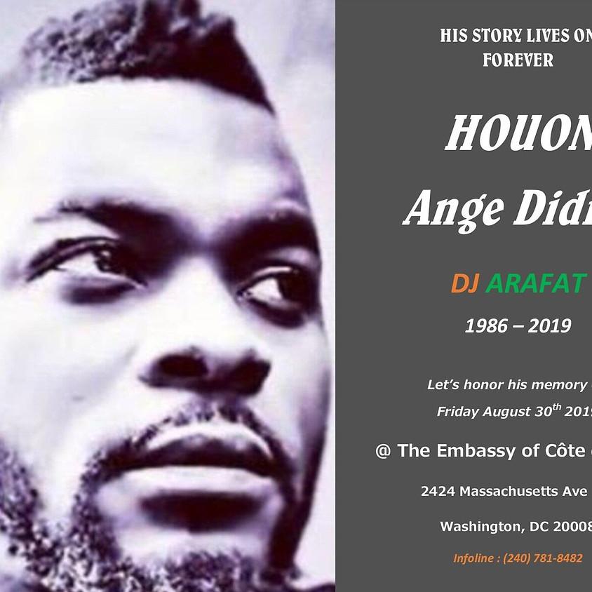 Hommage de la Diaspora Americaine a DJ Arafat
