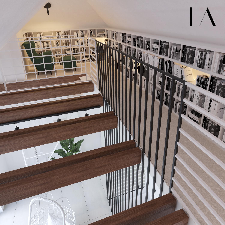 Antresola LIBRA Architekci