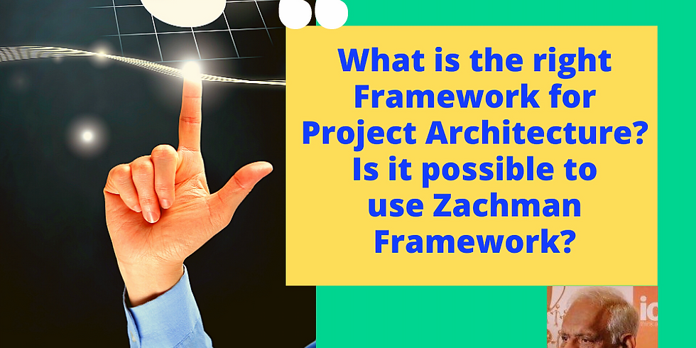 Can I use Zachman Framework If my focus is just one Project / Solution?