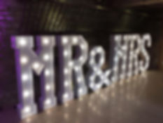 Mr & Mrs Lit Letters