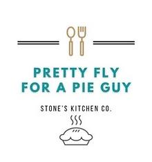Pie guy buisness logo