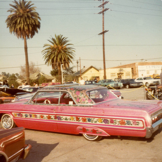 World famous Gypsy Rose, Imperials Car Club, East Los Angeles, 1980