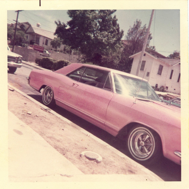 Pink Buick Riviera, East Los Angeles, 1970s