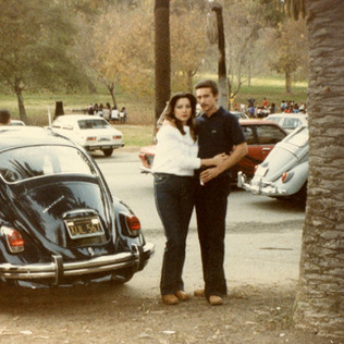 Love in Elysian Park on a Sunday afternoon, 1980s