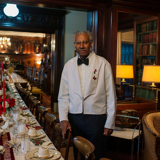 Mr. Nahum Sets the Table