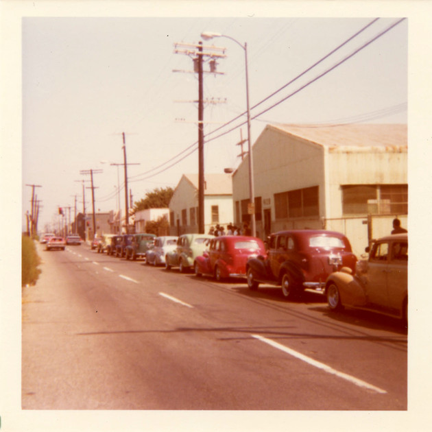 Zoot Suit Cruise, South Central,1978