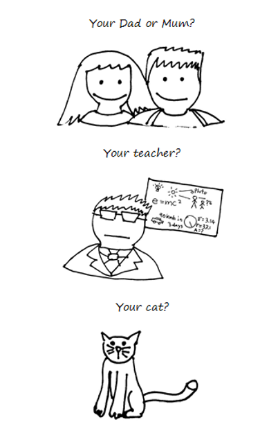 Dad Mum Teacher Cat.png