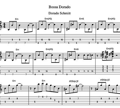 Bossa Dorado by Dorado Schmitt - Guitar Tab