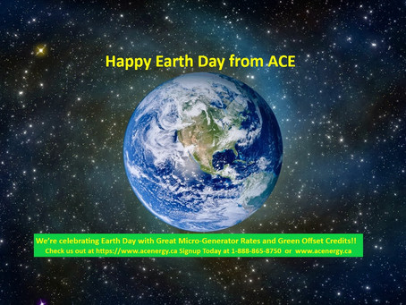 Happy Earth Day from ACE!!
