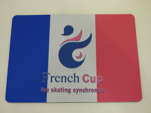 Tapis de souris French Cup