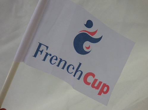 Petit drapeau French Cup