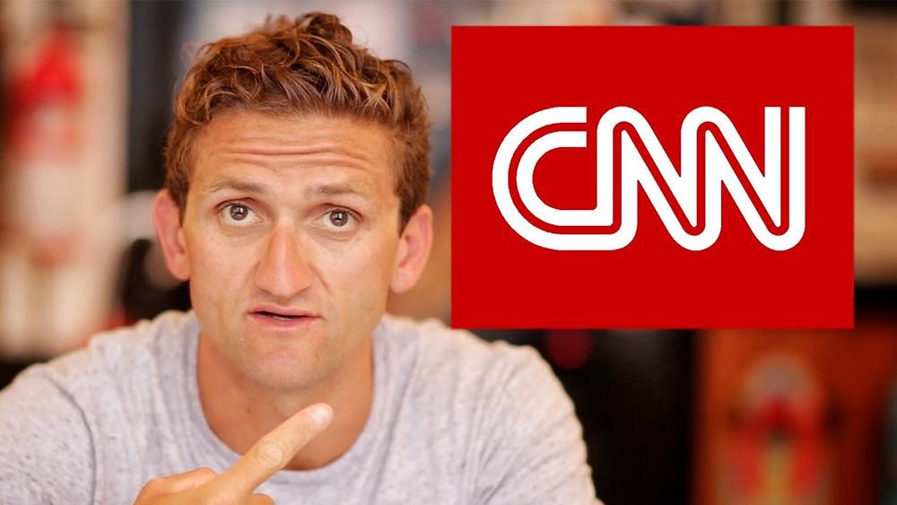 Casey Neistat e CNN