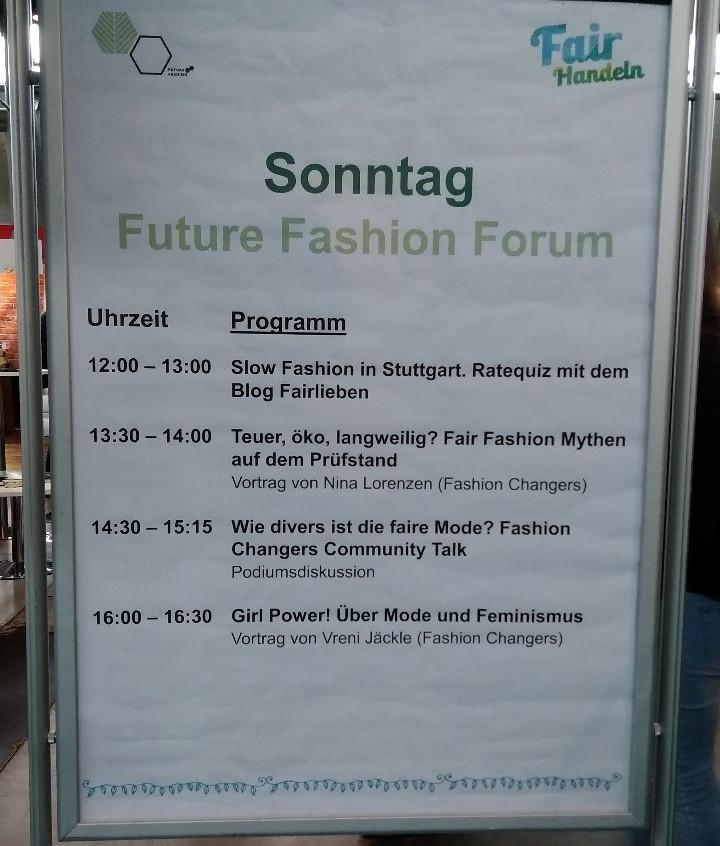 Rahmenprogramm Fairhandeln Sonntag