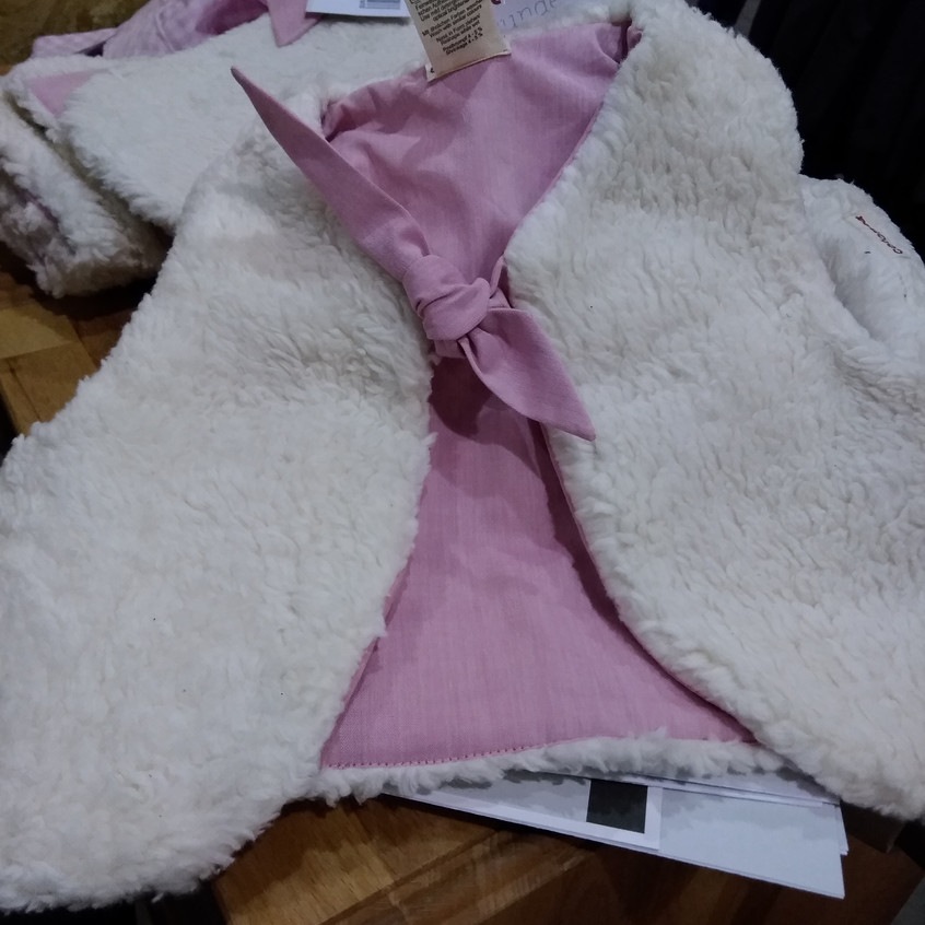 Cotonea Mädchen Jacke rosa auf Blog Fair
