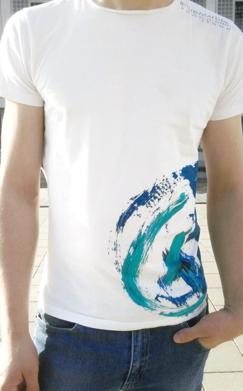 Blue Marble weiß