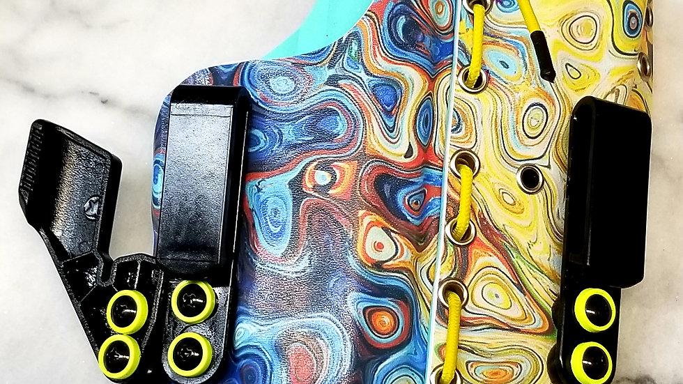 Oil Slick and Tiffany Blue Appendix 2 piece