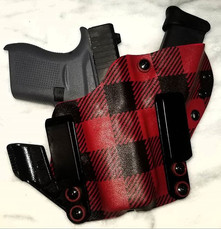 Plaid,  Lumberjack Red and Black! A.I.W.