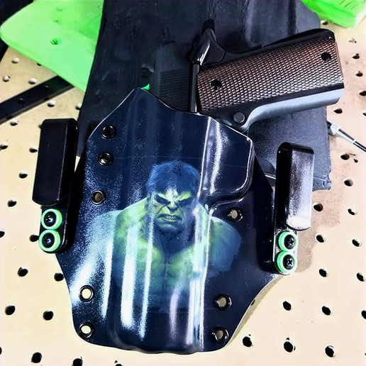 What better way to holster the classic 1