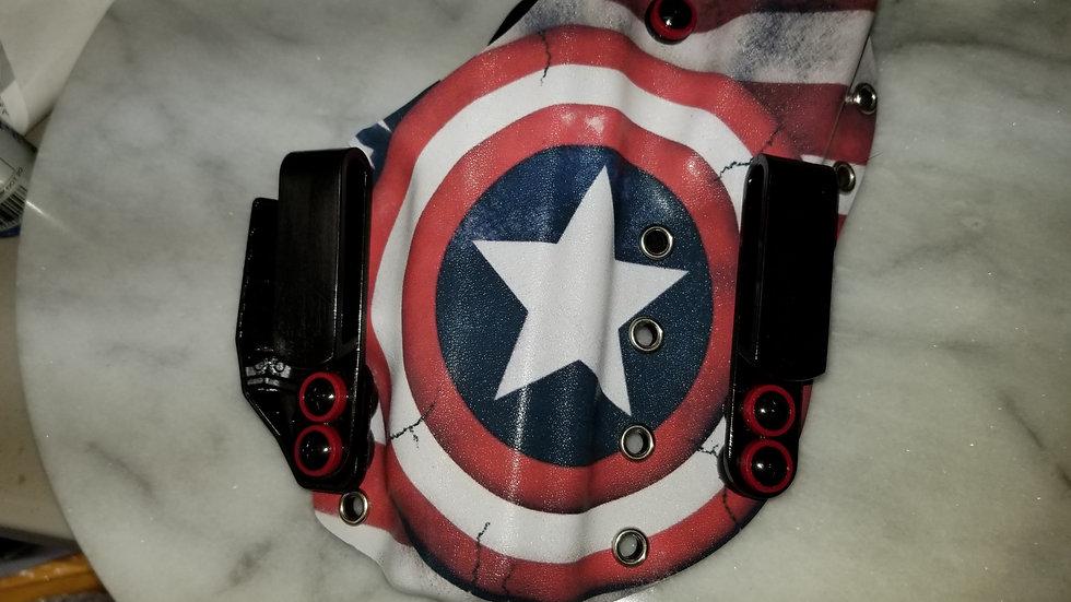 Captain America!!  RH Appendix Holster