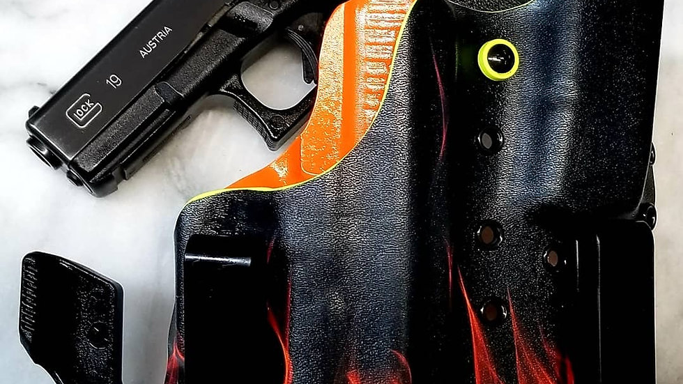 Flames w/ Orange Appendix right handed