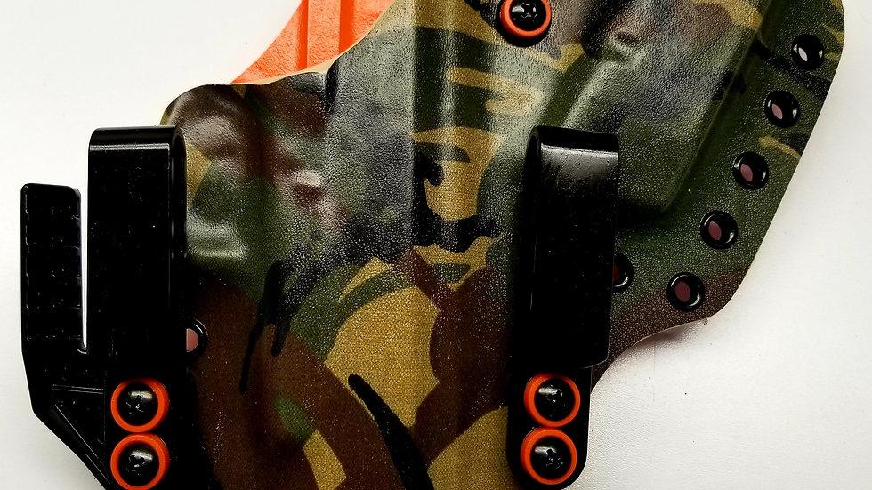 Jungle Camo & Carbon Fiber Orange A.I.W.B RH