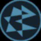 logo, Glitched Polygons