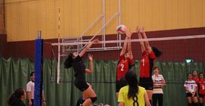 National School Volleyball 2015 - 'A' Division Girls Semi-final (HCI vs VJC)