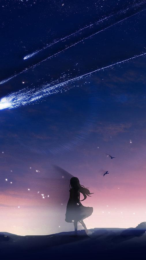 anime-night-sky-scenery-comet-uhdpaper.c