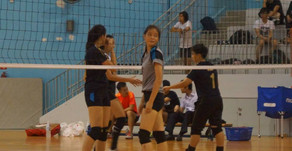 School Volleyball 2015 : The Best of 'B' Division Girls.