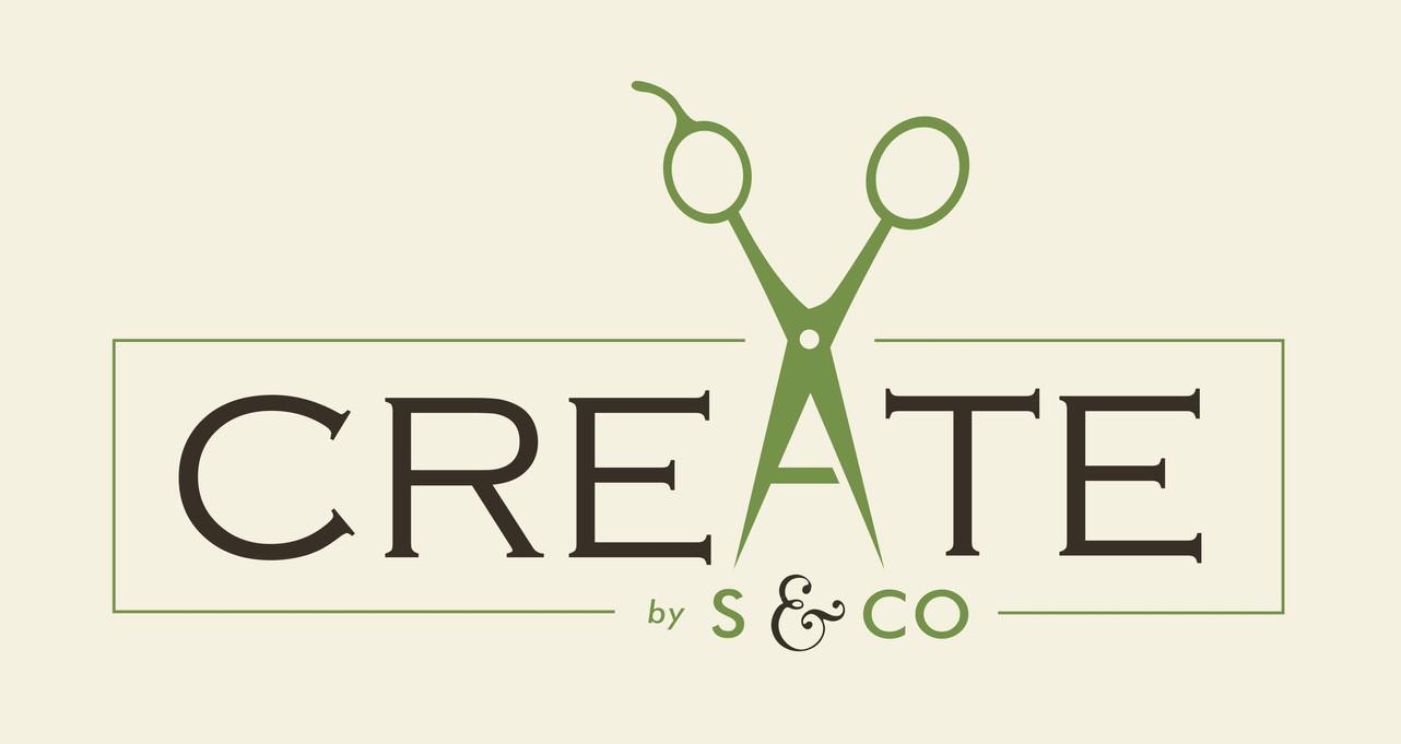 CREATE salon logo