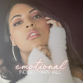 Singer Indigo Marshall's official artwork for 2019 debut single Emotional
