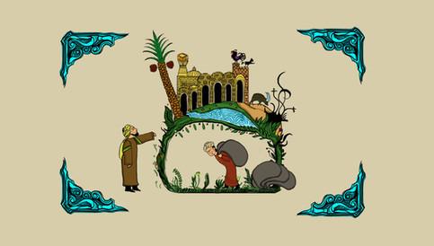 Maqamat Illustrated Design