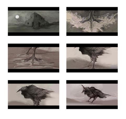 Music video key visuals