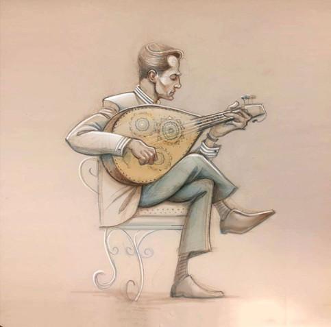 Musician - Oud player