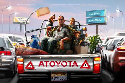Cairo traffic study