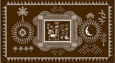 Indian folk art