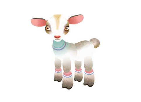 """Goat design for """"Animal Farm"""""""